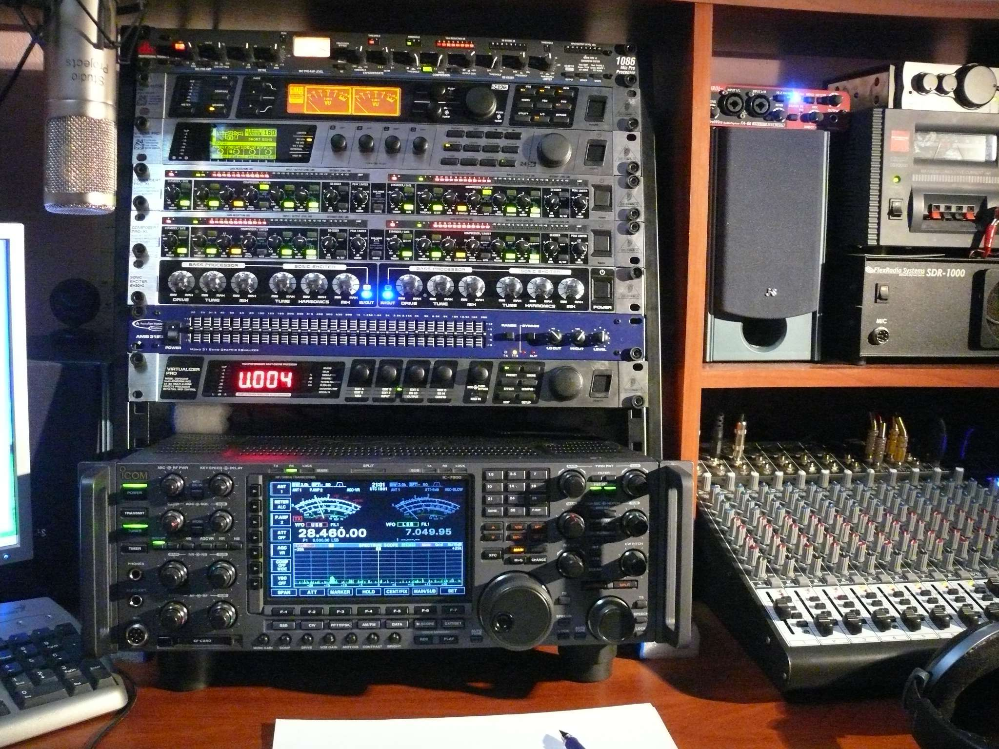 Here is the R5FM Rack!