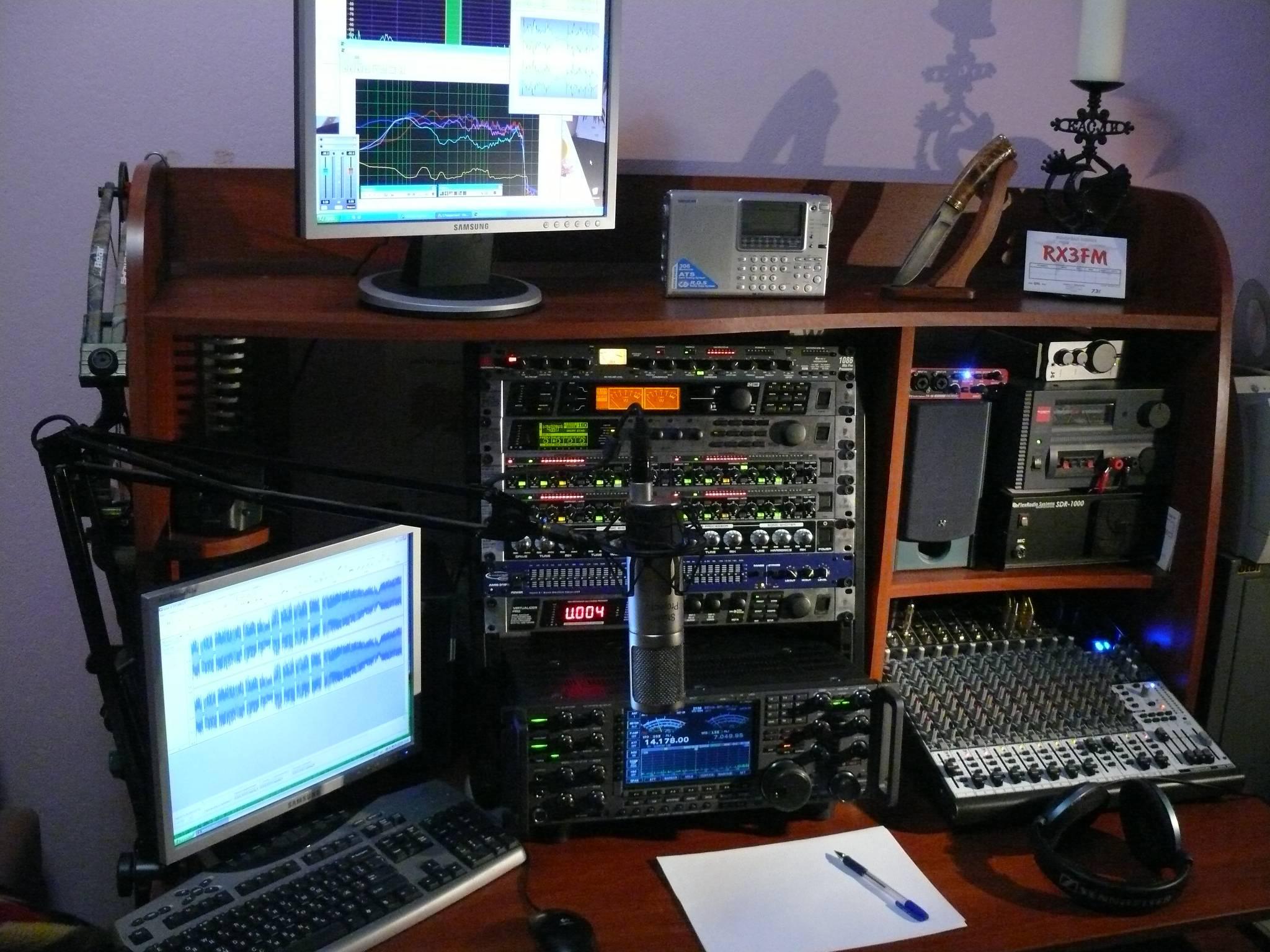 Amateur Radio Station Wb4omm: R5FM Hi-Fi ESSB Voodoo Audio Amateur Radio Station